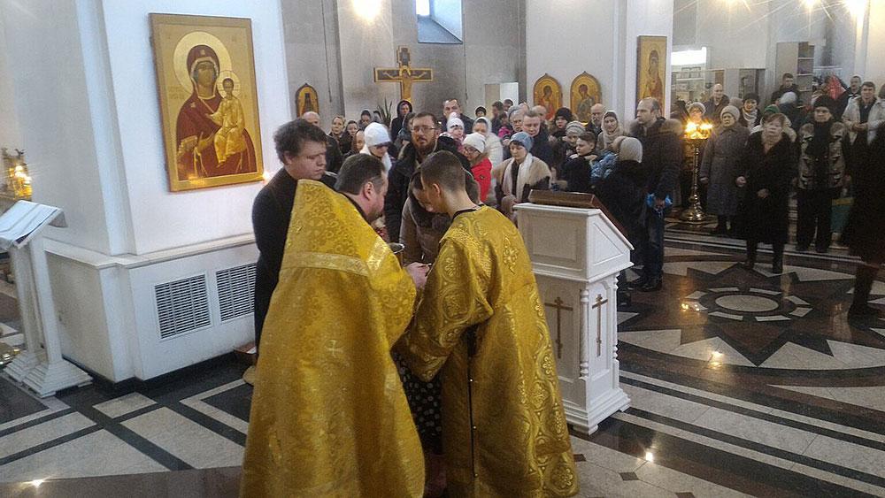 Воскресное богослужение 11 февраля
