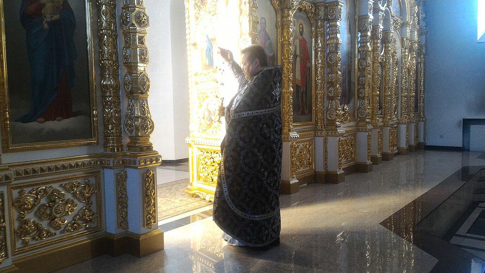 Первая Литургия Преждеосвященных Даров 2018