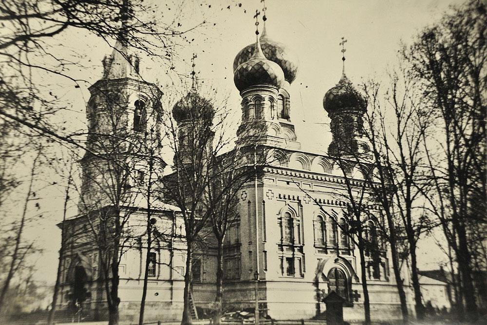 История первоначального храма
