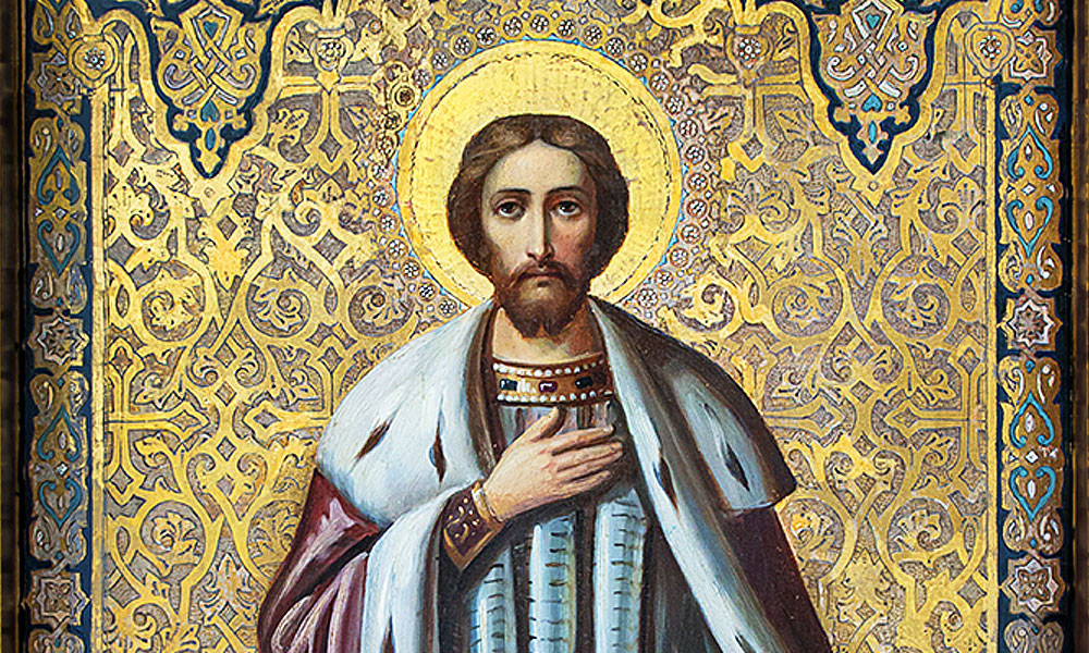Храмовая икона св. Александра Невского
