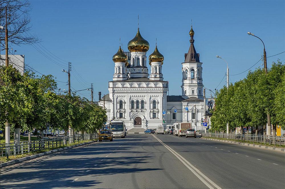Воссоздание собора св. Александра Невского в Твери