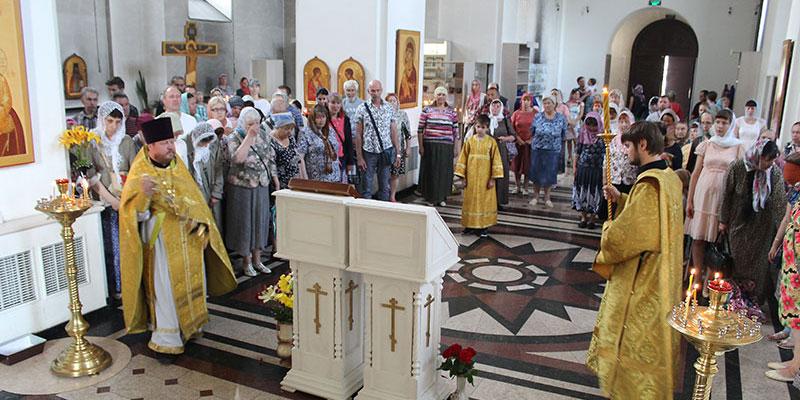 Богослужение 15 июля 2018 года