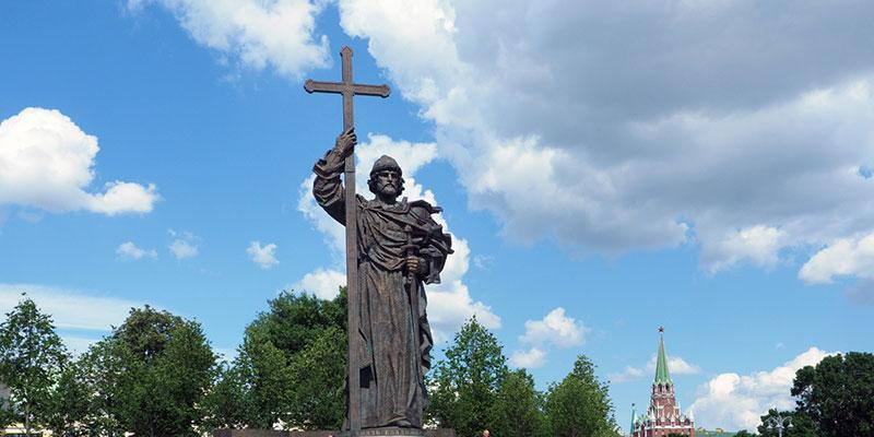 Святой Владимир — креститель Руси