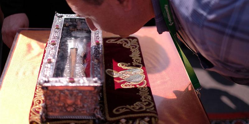 Десница святителя Спиридона прибыла в Россию