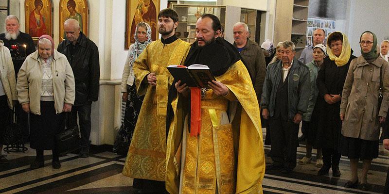 Престольный праздник в соборе св. Александра Невского в Твери