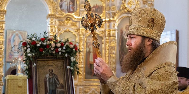 Престольный праздник собора св. Александра Невского в Твери