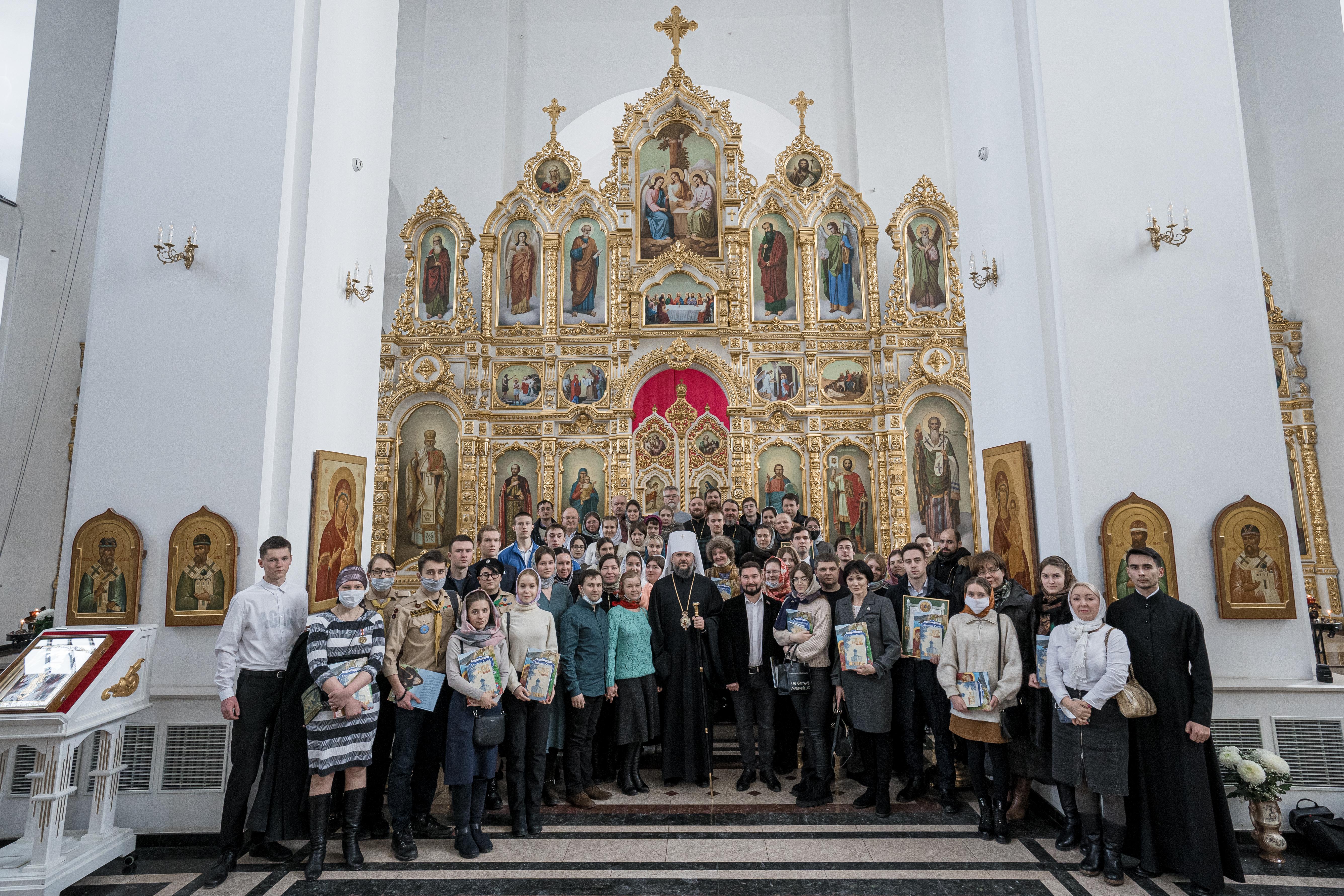 В преддверии дня православной молодежи