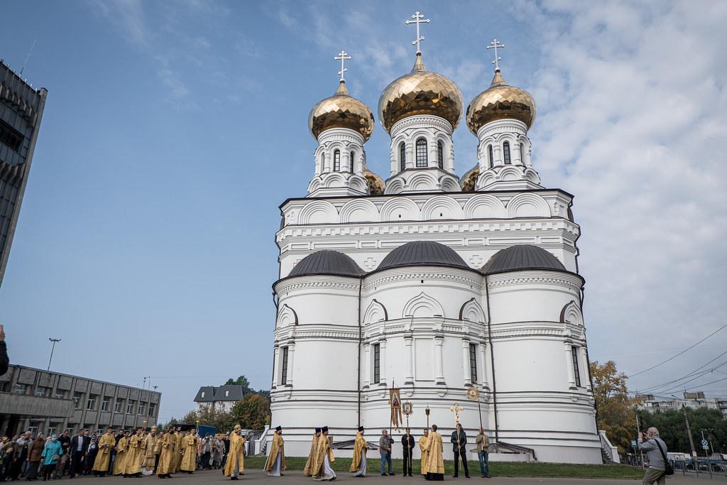 800 лет со дня рождения благоверного князя Александра Невского. Престольный праздник